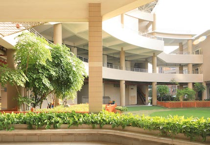 XIS Campus Courtyard